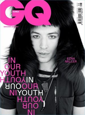 Ezra Miller - GQ Korea Cover - 2018