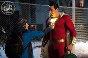 First Look ~ Zachary Levi in 'Shazam!'