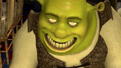 Shrek fond d'écran titled Five nights at Shrek's