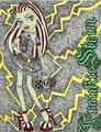 Frankie Stein - monster-high fan art