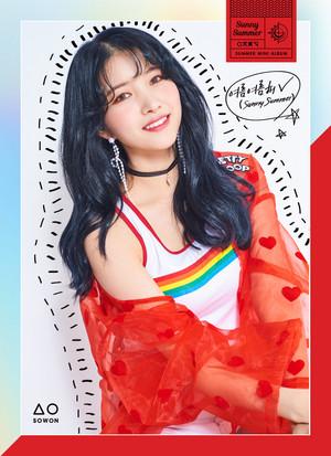 "GFRIEND Summer Mini Album ""Sunny Summer"" Teaser Image - Sowon"