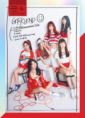 GFRIEND Sunny Summer Concept Photo