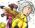 Gambit punches Joseph