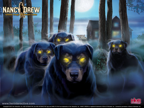 Nancy Drew games वॉलपेपर called Ghost कुत्ता of Moon Lake