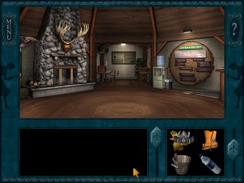 Nancy Drew games wallpaper titled Ghost anjing of Moon Lake
