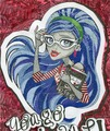 Ghoulia Yelps Mosaic - monster-high fan art