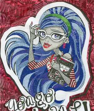 Ghoulia Yelps Mosaic