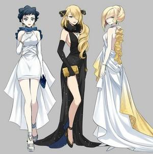 Diantha, Cynthia, Lusamine
