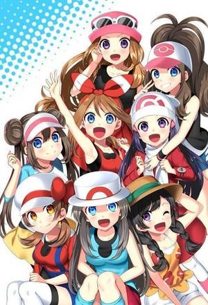 Girls of ポケモン