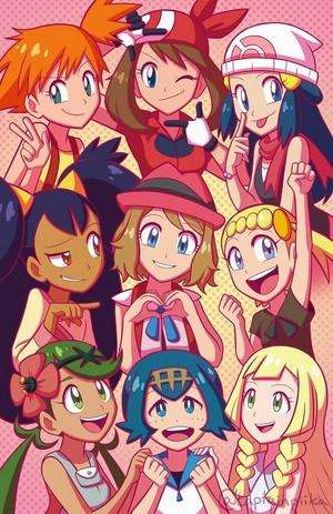 Girls of Покемон