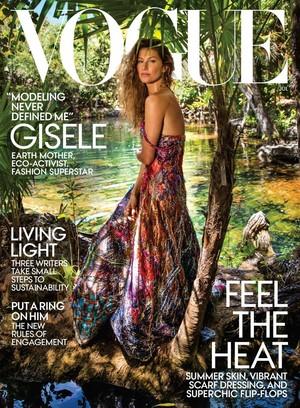 Gisele Bündchen covers Vogue [July 2018]