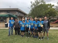 Grace Church flag football head coach. Champions.