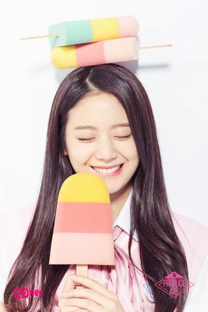 Gyuri on Produce48