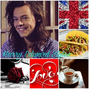 Harry Styles Aesthetic I made on June 28th:)