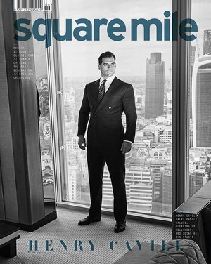 Henry Cavill - Square Mile Cover - 2018