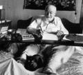 Henry Matisse And His Cat  - cynthia-selahblue-cynti19 photo