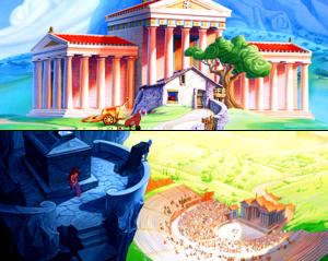 Hercules Scenery