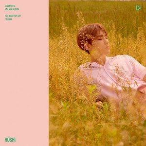 Hoshi individual teaser image for 'You Make My Day'