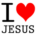 I LOVE JESUS  - jesus photo