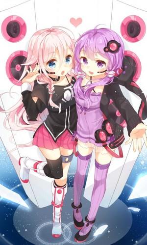 IA and Yuzuki