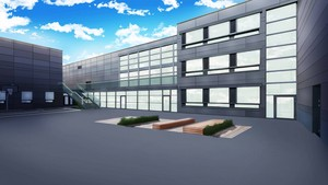 IIBM Courtyard (Day) پیپر وال