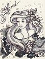 Iconic Ariel - disney-princess fan art