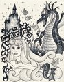 Iconic Aurora - disney-princess fan art