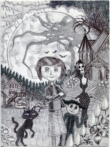 Coraline wallpaper entitled Iconic Coraline