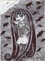 Iconic Draculaura - monster-high fan art