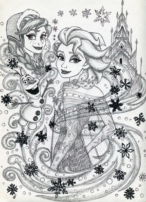 Iconic Elsa and Anna