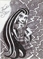 Iconic Frankie Stein - monster-high fan art