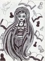 Iconic Ghoulia Yelps - monster-high fan art