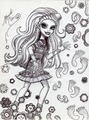 Iconic Marisol Coxi - monster-high fan art