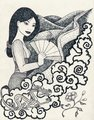 Iconic Mulan - disney-princess fan art