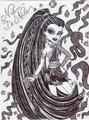 Iconic Nefera De Nile - monster-high fan art