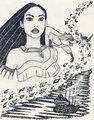 Iconic Pocahontas - disney-princess fan art
