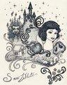 Iconic Snow White - disney-princess fan art