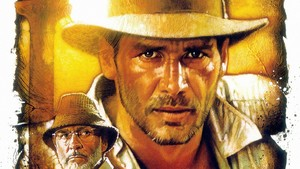 Indiana Jones kertas dinding