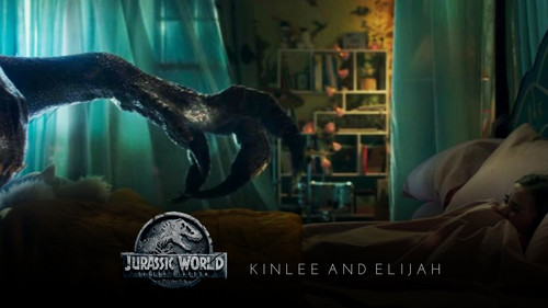 Jurassic World kertas dinding entitled Isabella Sermon