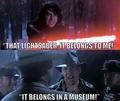 It Belongs In A Museum - star-wars photo