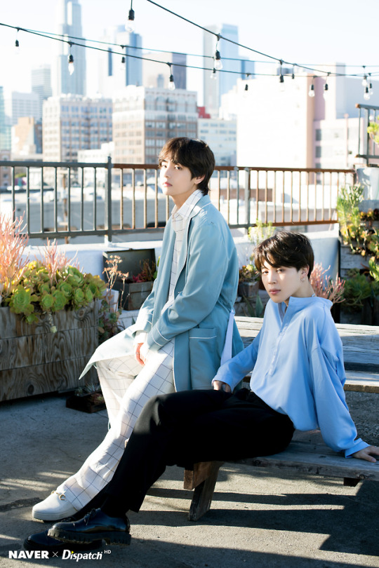 JIMIN and V  X DISPATCH FOR BTS' 5TH ANNIVERSARY