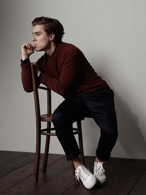 Jack Farthing Photoshoot at Mr. Porter