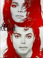 Janet and Michael - michael-jackson photo