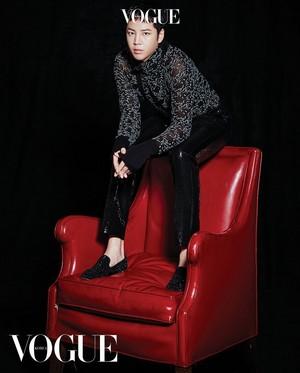 Jang Geun Suk - Vogue Magazine March Issue '18