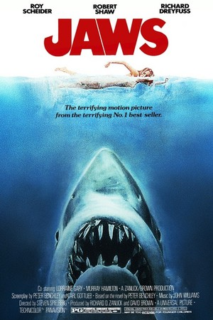 Jaws (1975) Poster