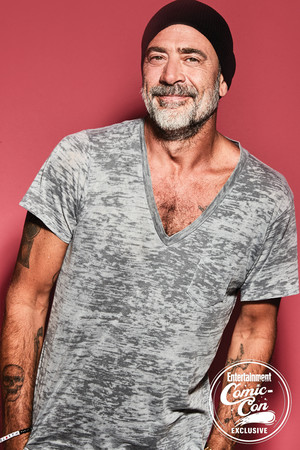 Jeffrey Dean morgan ~ EW SDCC 2018 Portrait