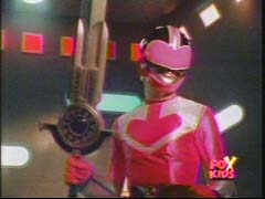 Jen Morphed As The rosa Time Force Ranger