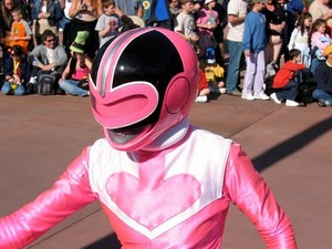 Jen Scotts/Pink Force Ranger (from Power Rangers Time Force)