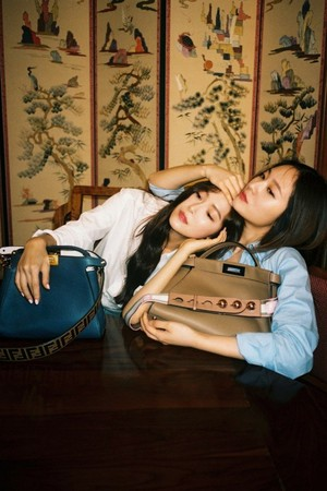 "Jessica and Krystal for ""Fendi"""