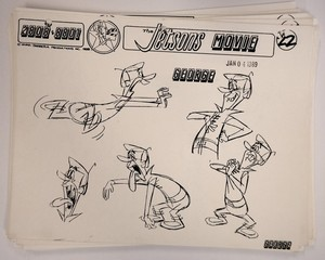 Jetsons The Movie George Model Sheet